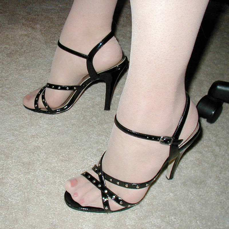 High heel shoe abuse fetish