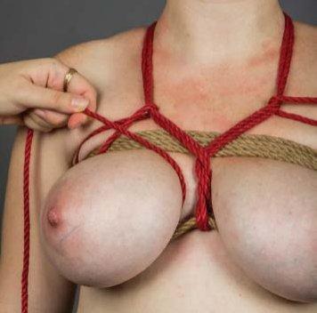 Tutorial breast bondage Chest Harnesses
