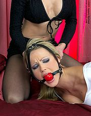 harness ball gagged
