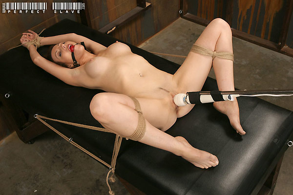 Redhead submissive table