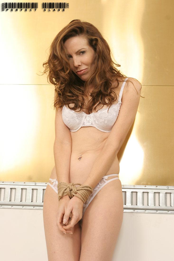 Women in lingerie tied up-3415