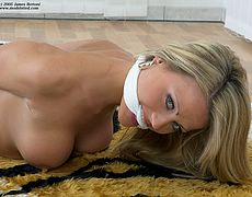 Jasmine Sinclair gagged