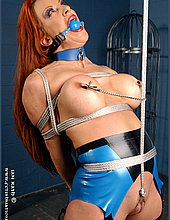 tied in latex