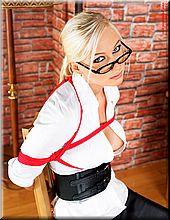 crotchrope corset
